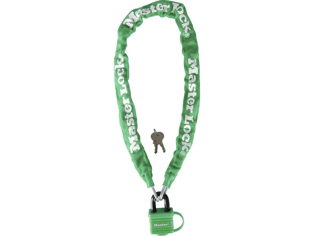 Masterlock 8390 Chain Lock 6x900mm, green